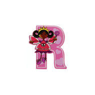 Self Adhesive Wooden Fairy Letter R by The Toy Workshop