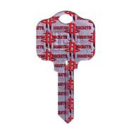 Houston Rockets Schlage SC1 House Key