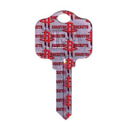 Houston Rockets Schlage SC1 House Key
