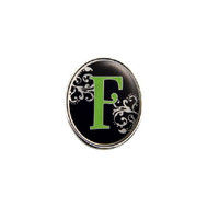 Finders Key Purse Letter F Key Chain