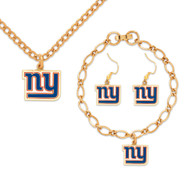 New York Giants Jewelry Gift Set