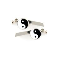 Yin Yang Safety Whistle Keychain