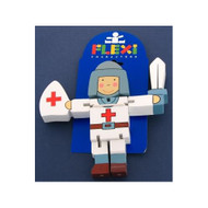 Wooden Swordsman Flexi Character by The Toy Workshop