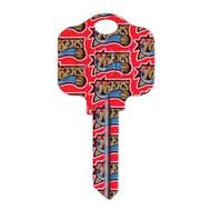 Philadelphia 76ers Schlage SC1 House Key