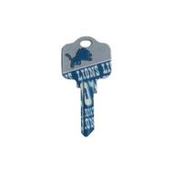 Detroit Lions Kwikset KW1 House Key