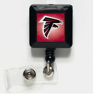 Atlanta Falcons Retractable Badge Holder