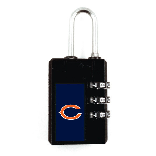 Chicago Bears Luggage Security Lock TSA Approved