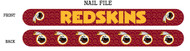 Washington Redskins Nail File