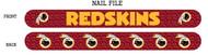 Washington Redskins Nail File