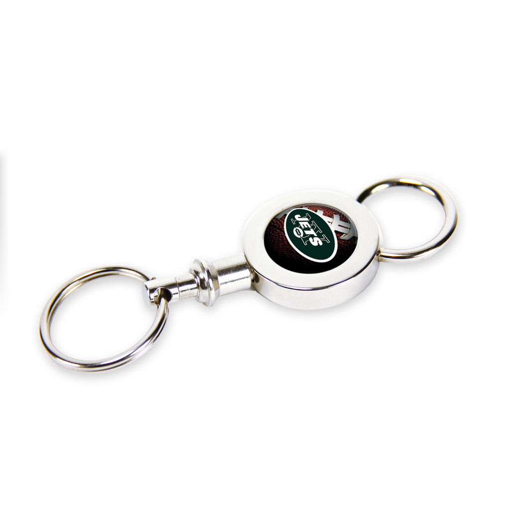 48fa6962 New York Jets Quick Release Valet Keychain