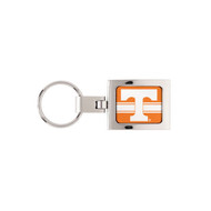 University of Tennessee Domed Metal Keychain