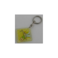 Tinker Bell Etched Lucite Key Chain