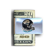 Jacksonville Jaguars Pewter Emblem Money Clip