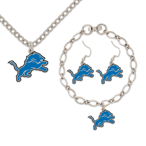 Detroit Lions Jewelry Gift Set