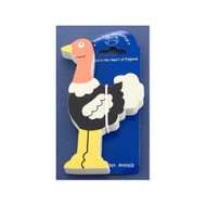 Magnetic Wooden Ostrich Magnet by The Toy Workshop
