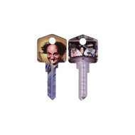 The Three Stooges Larry Kwikset KW House Key