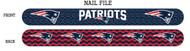 New England Patriots Nail File