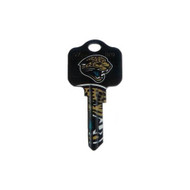 Jacksonville Jaguars Schlage SC1 House Key
