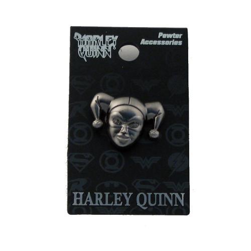 Harley Quinn Pewter Lapel Pin