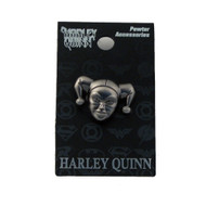 Harley Quinn Pewter Lapel Pin