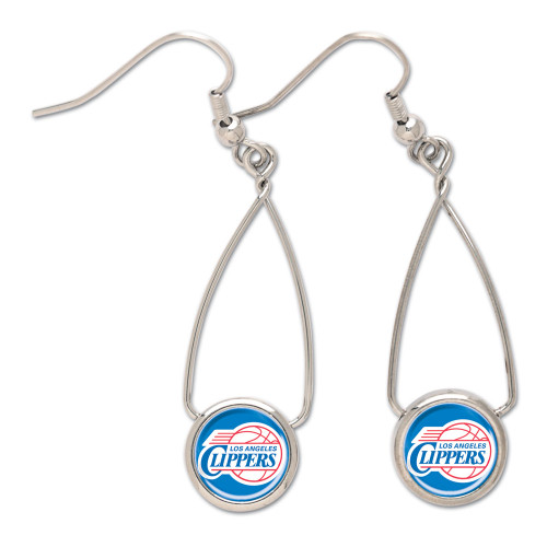 Los Angeles Clippers French Loop Earrings