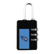 Tennessee Titans Luggage Security Lock TSA Approved