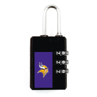 Minnesota Vikings Luggage Security Lock TSA Approved