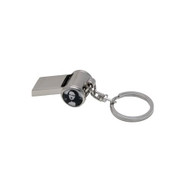 Mona Lisa Safety Whistle Keychain