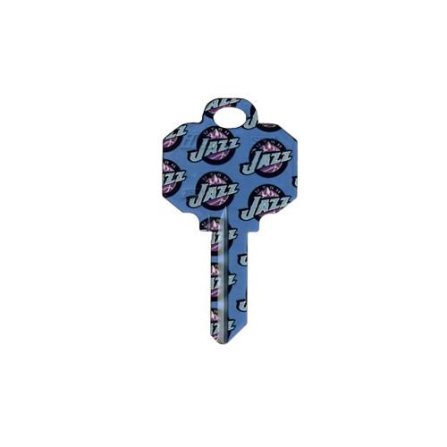Utah Jazz Schlage SC1 House Key