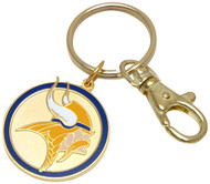 Minnesota Vikings Key Chain with clip Keychain NFL