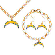 San Diego Chargers Jewelry Gift Set