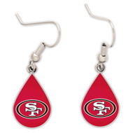 San Francisco 49ers Tear Drop Earrings