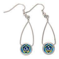 LA Galaxy French Loop Earrings