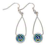 LA Galaxy French Loop Earrings