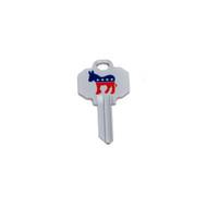 Democrat Schlage SC1 House Key