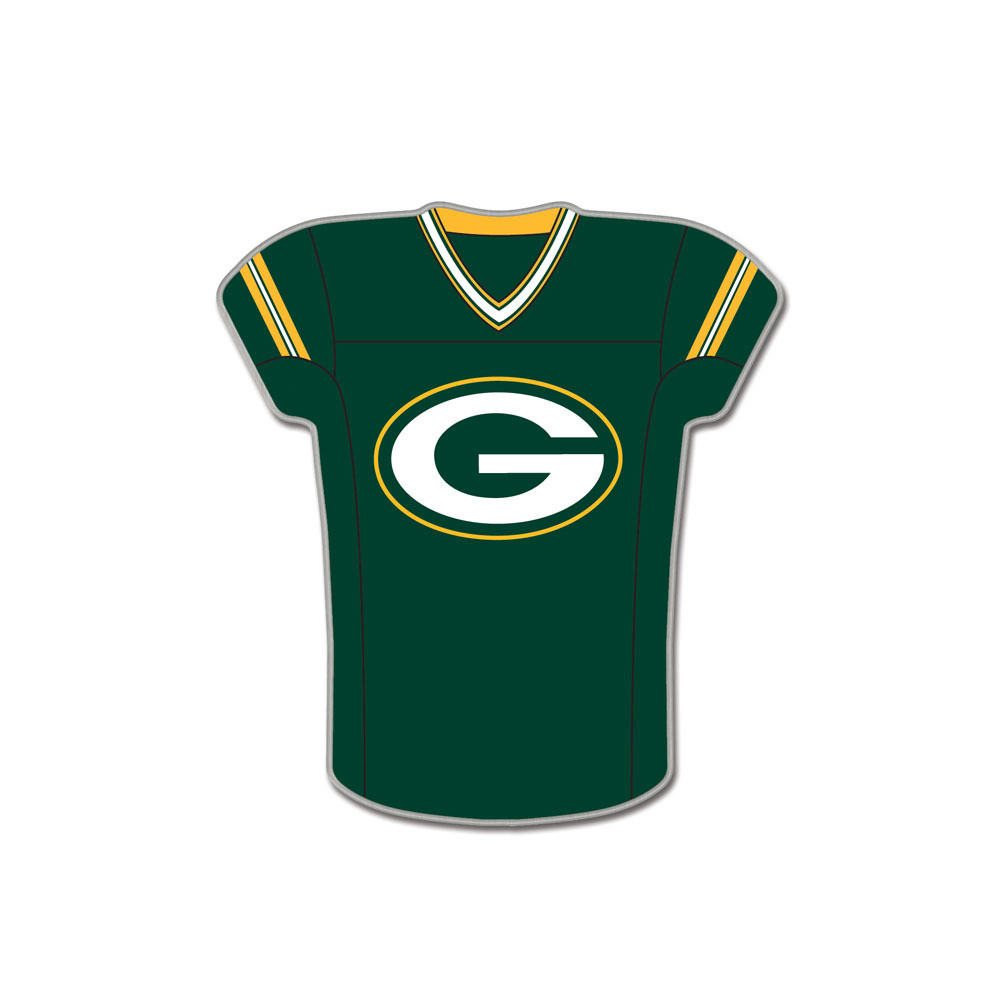 7f799ad9d Green Bay Packers Team Jersey Cloisonne Pin - Sunset Key Chains