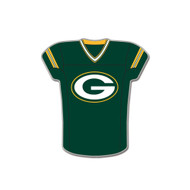 Green Bay Packers Team Jersey Cloisonne Pin