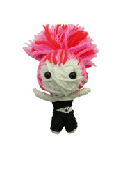 Bella Hair String Doll Gang Keychain (colors may vary)