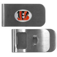 Cincinnati Bengals Money Clip Bottle Opener