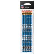 Detroit Lions Pencils - Pack of Six (6)