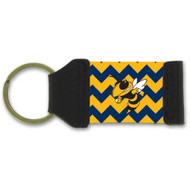 Georgia Tech  Chevron Keychain