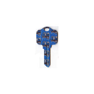 Orlando Magic Schlage SC1 House Key
