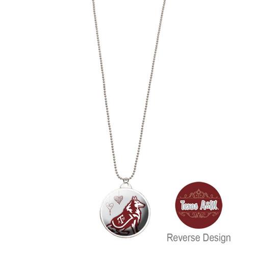 Texas A&M University Double Dome Necklace
