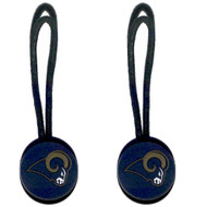 Los Angeles Rams Zipper Pull (2-Pack)