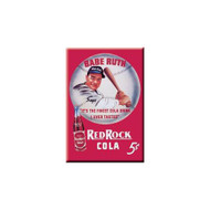 Babe Ruth Red Rock Cola Refrigerator Magnet