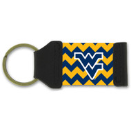 West Virginia Chevron Keychain
