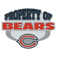 Chicago Bears Property Of Cloisonne Pin
