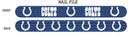Indianapolis Colts Nail File