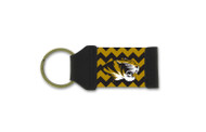 University of Missouri Chevron Keychain