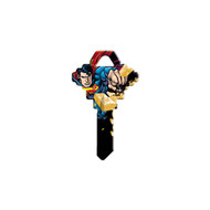 Superman Bricks Schlage SC1 House Key